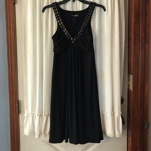 Bison dress, size 8, black